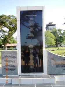 Marienburg Sugar factory Indian workers 1903 struggle memorial-Suriname-3-9-2011JPG (19)
