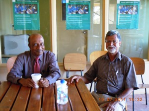 With VC Prof. S Murladhar at The University of the Fiji-Lautoke-Fiji-2011