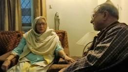 With Krishna Sobti-2013