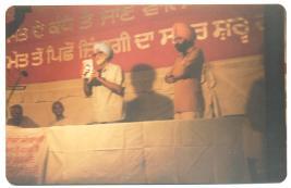 Pash Programme Jalandhar-9th Sept.'89-Jaidev Kapoor-Sujan Singh-Subba Rao (3)