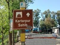 Dera Baba Nanak-way billboard to Kartarpur (2)