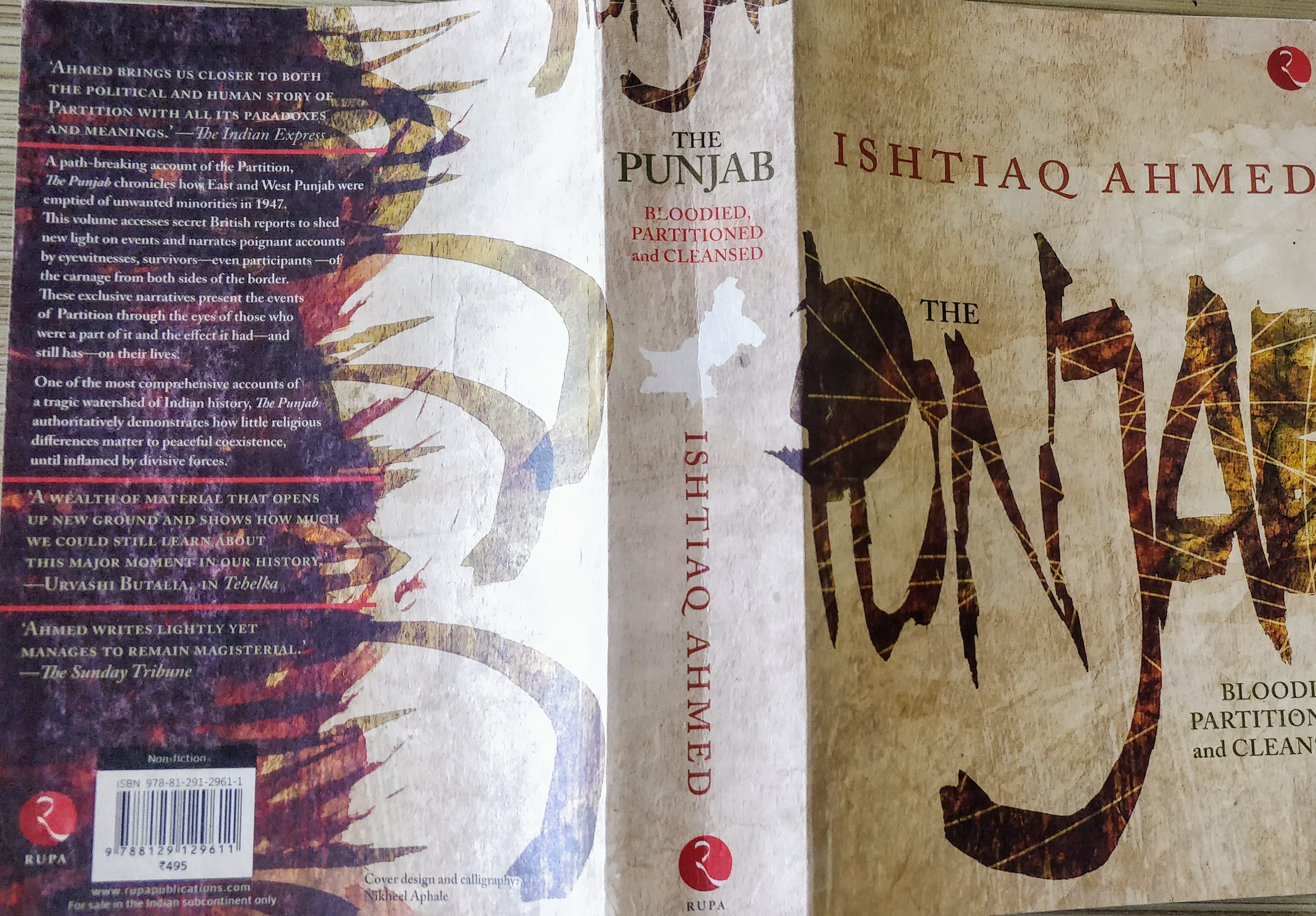 Ishtiaq Ahmed, The Punjab: Bloodied, Partitioned and